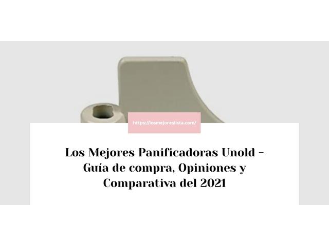 Los Mejores Panificadoras Unold – Guía de compra, Opiniones y Comparativa del 2021 (España)