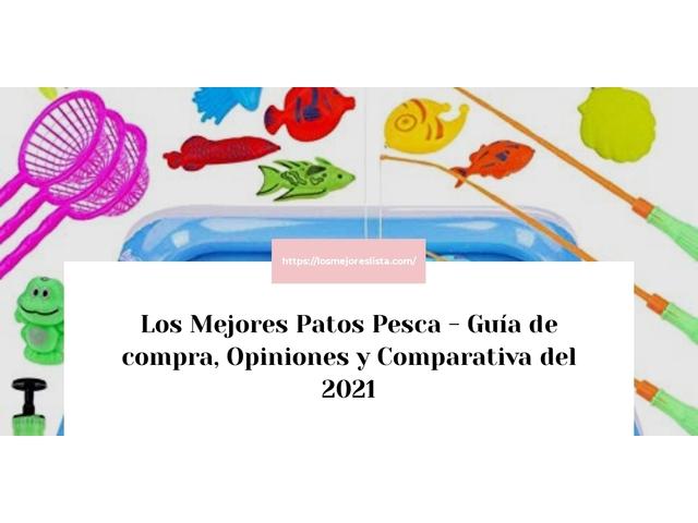 Los Mejores Patos Pesca – Guía de compra, Opiniones y Comparativa del 2021 (España)