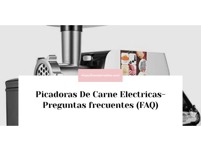 Los Mejores Picadoras De Carne Electricas – Guía de compra, Opiniones y Comparativa del 2021 (España)