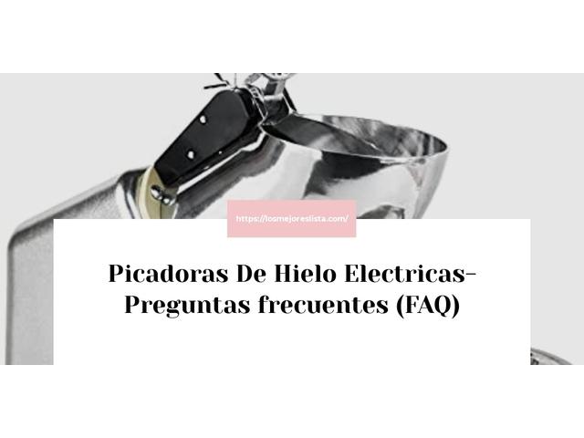 Los Mejores Picadoras De Hielo Electricas – Guía de compra, Opiniones y Comparativa del 2021 (España)