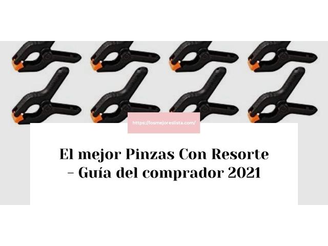 Los Mejores Pinzas Con Resorte – Guía de compra, Opiniones y Comparativa del 2021 (España)