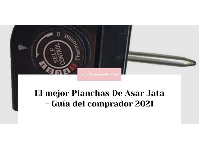 Los Mejores Planchas De Asar Jata – Guía de compra, Opiniones y Comparativa del 2021 (España)