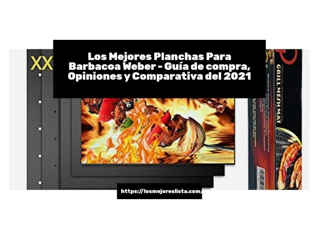 Los Mejores Planchas Para Barbacoa Weber – Guía de compra, Opiniones y Comparativa del 2021 (España)