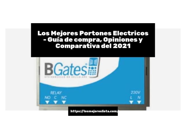 Los Mejores Portones Electricos – Guía de compra, Opiniones y Comparativa del 2021 (España)