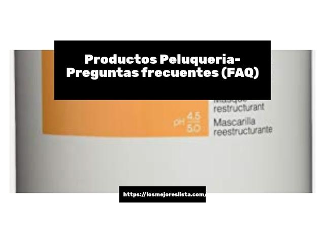 Los Mejores Productos Peluqueria – Guía de compra, Opiniones y Comparativa del 2021 (España)