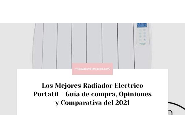 Los Mejores Radiador Electrico Portatil – Guía de compra, Opiniones y Comparativa del 2021 (España)