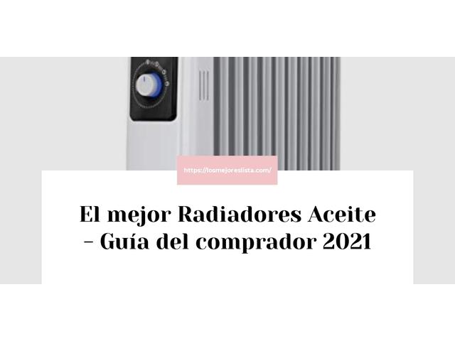 Los Mejores Radiadores Aceite – Guía de compra, Opiniones y Comparativa del 2021 (España)