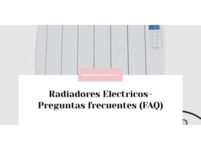 Los Mejores Radiadores Electricos – Guía de compra, Opiniones y Comparativa del 2021 (España)