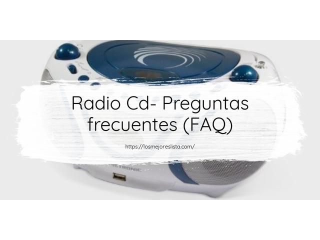 Los Mejores Radio Cd – Guía de compra, Opiniones y Comparativa del 2021 (España)