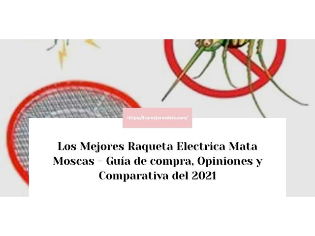 Los Mejores Raqueta Electrica Mata Moscas – Guía de compra, Opiniones y Comparativa del 2021 (España)