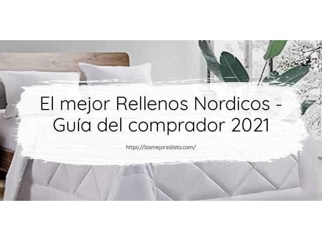 Los Mejores Rellenos Nordicos – Guía de compra, Opiniones y Comparativa del 2021 (España)