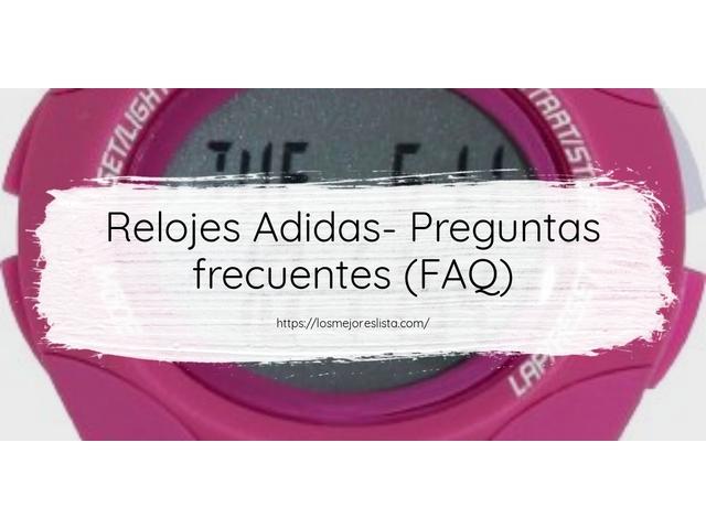 Los Mejores Relojes Adidas – Guía de compra, Opiniones y Comparativa del 2021 (España)