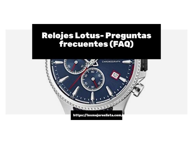 Los Mejores Relojes Lotus – Guía de compra, Opiniones y Comparativa del 2021 (España)