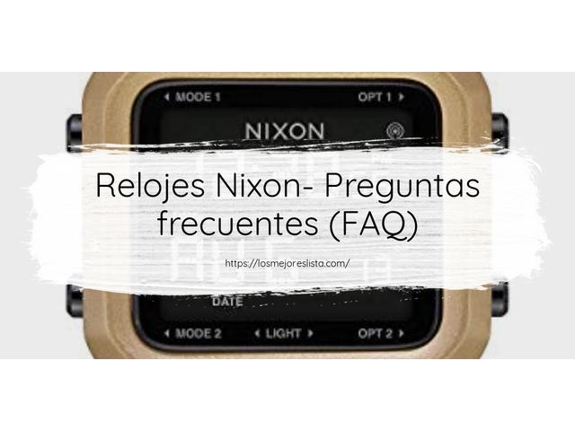 Los Mejores Relojes Nixon – Guía de compra, Opiniones y Comparativa del 2021 (España)
