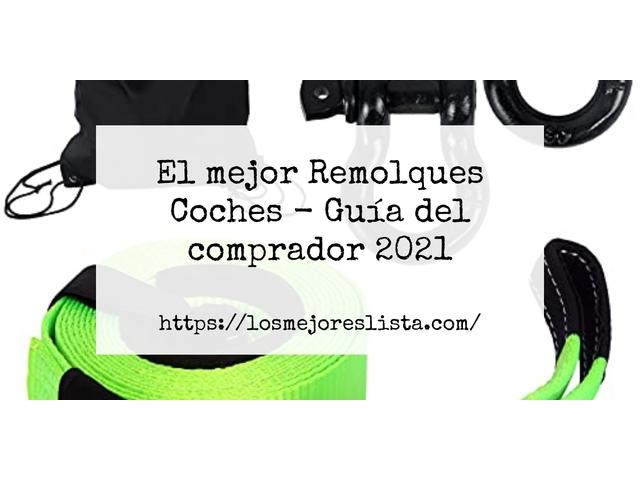 Los Mejores Remolques Coches – Guía de compra, Opiniones y Comparativa del 2021 (España)