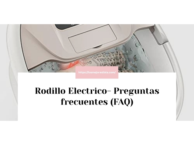 Los Mejores Rodillo Electrico – Guía de compra, Opiniones y Comparativa del 2021 (España)