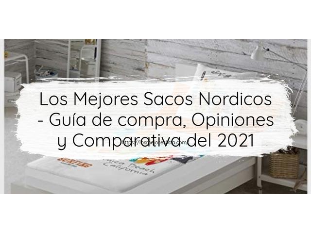 Los Mejores Sacos Nordicos – Guía de compra, Opiniones y Comparativa del 2021 (España)