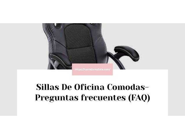 Los Mejores Sillas De Oficina Comodas – Guía de compra, Opiniones y Comparativa del 2021 (España)