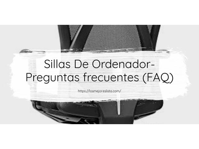 Los Mejores Sillas De Ordenador – Guía de compra, Opiniones y Comparativa del 2021 (España)