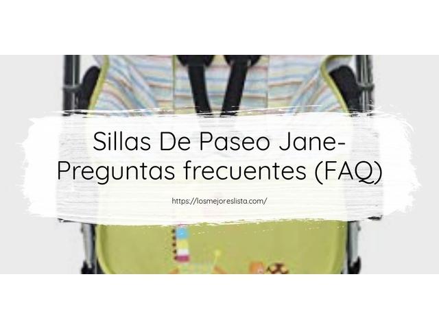 Los Mejores Sillas De Paseo Jane – Guía de compra, Opiniones y Comparativa del 2021 (España)