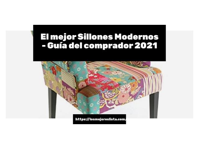 Los Mejores Sillones Modernos – Guía de compra, Opiniones y Comparativa del 2021 (España)