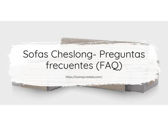 Los Mejores Sofas Cheslong – Guía de compra, Opiniones y Comparativa del 2021 (España)