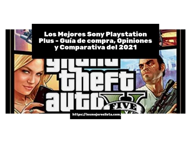 Los Mejores Sony Playstation Plus – Guía de compra, Opiniones y Comparativa del 2021 (España)