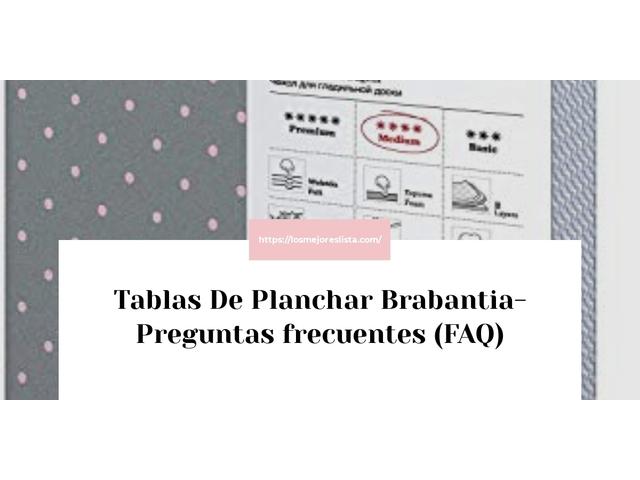 Los Mejores Tablas De Planchar Brabantia – Guía de compra, Opiniones y Comparativa del 2021 (España)