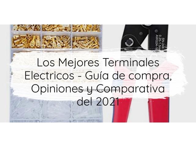Los Mejores Terminales Electricos – Guía de compra, Opiniones y Comparativa del 2021 (España)