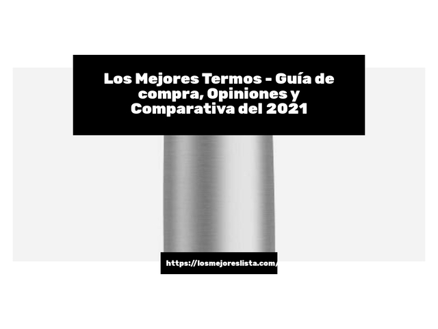 Los Mejores Termos – Guía de compra, Opiniones y Comparativa del 2021 (España)