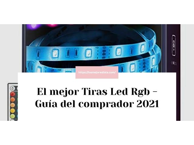 Los Mejores Tiras Led Rgb – Guía de compra, Opiniones y Comparativa del 2021 (España)