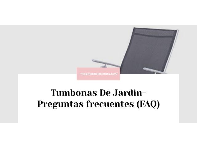 Los Mejores Tumbonas De Jardin – Guía de compra, Opiniones y Comparativa del 2021 (España)