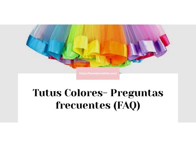 Los Mejores Tutus Colores – Guía de compra, Opiniones y Comparativa del 2021 (España)