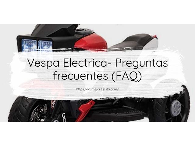 Los Mejores Vespa Electrica – Guía de compra, Opiniones y Comparativa del 2021 (España)