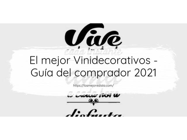 Los Mejores Vinidecorativos – Guía de compra, Opiniones y Comparativa del 2021 (España)