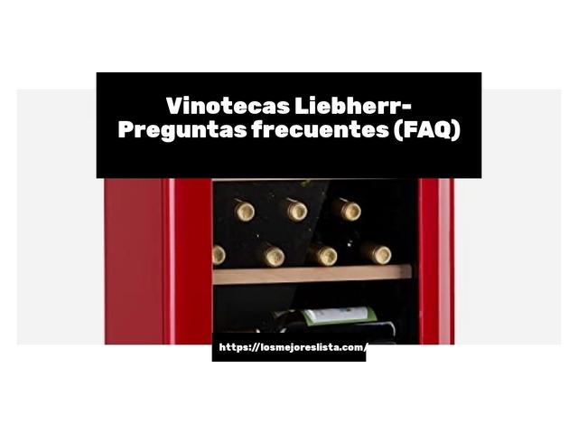 Los Mejores Vinotecas Liebherr – Guía de compra, Opiniones y Comparativa del 2021 (España)
