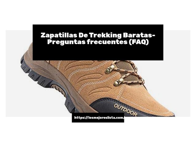 Los Mejores Zapatillas De Trekking Baratas – Guía de compra, Opiniones y Comparativa del 2021 (España)