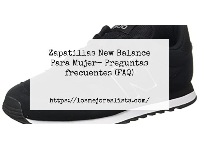 Los Mejores Zapatillas New Balance Para Mujer – Guía de compra, Opiniones y Comparativa del 2021 (España)