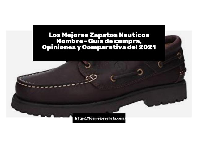 Los Mejores Zapatos Nauticos Hombre – Guía de compra, Opiniones y Comparativa del 2021 (España)