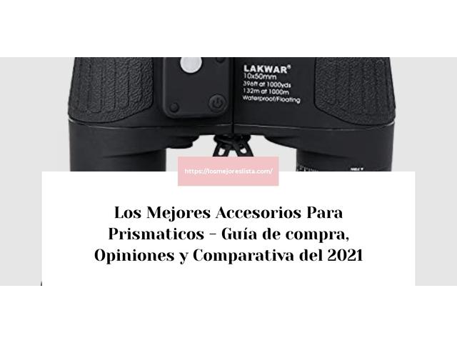 Los Mejores Accesorios Para Prismaticos – Guía de compra, Opiniones y Comparativa del 2021 (España)