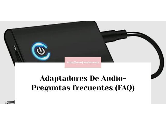 Los Mejores Adaptadores De Audio – Guía de compra, Opiniones y Comparativa del 2021 (España)