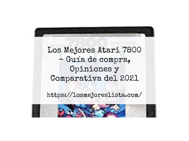 Los Mejores Atari 7800 – Guía de compra, Opiniones y Comparativa del 2021 (España)