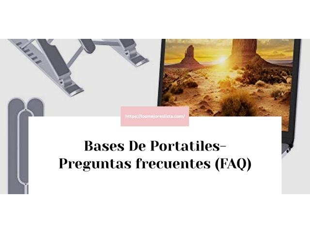 Los Mejores Bases De Portatiles – Guía de compra, Opiniones y Comparativa del 2021 (España)
