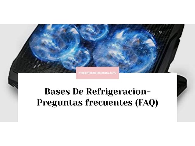 Los Mejores Bases De Refrigeracion – Guía de compra, Opiniones y Comparativa del 2021 (España)