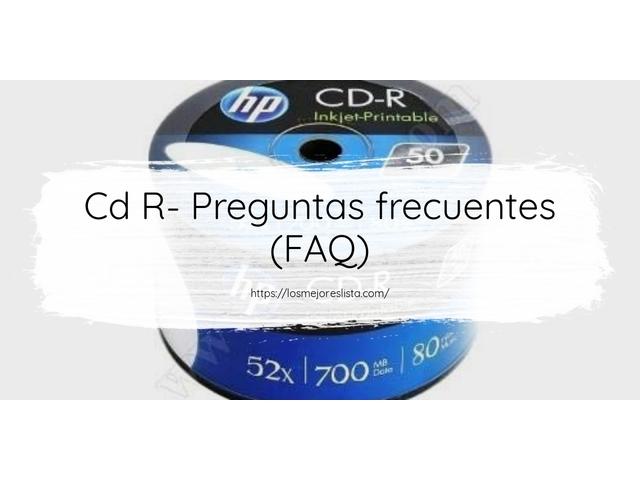 Los Mejores Cd R – Guía de compra, Opiniones y Comparativa del 2021 (España)