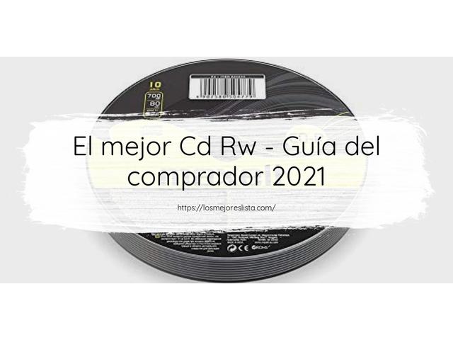 Los Mejores Cd Rw – Guía de compra, Opiniones y Comparativa del 2021 (España)