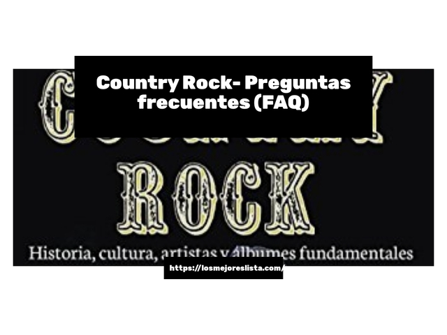 Los Mejores Country Rock – Guía de compra, Opiniones y Comparativa del 2021 (España)