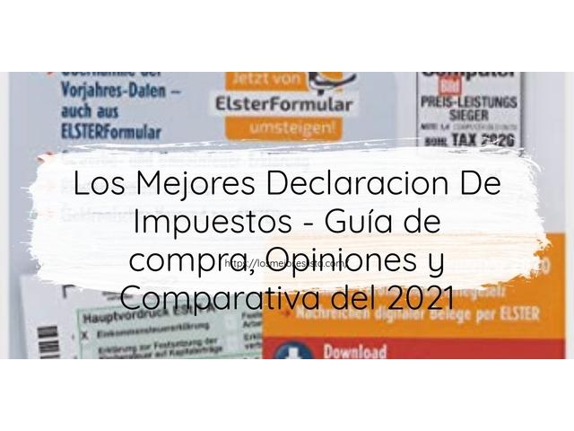 Los Mejores Declaracion De Impuestos – Guía de compra, Opiniones y Comparativa del 2021 (España)