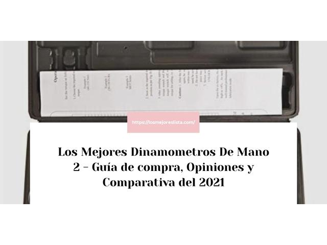Los Mejores Dinamometros De Mano 2 – Guía de compra, Opiniones y Comparativa del 2021 (España)