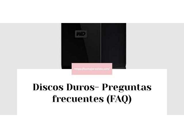 Los Mejores Discos Duros – Guía de compra, Opiniones y Comparativa del 2021 (España)